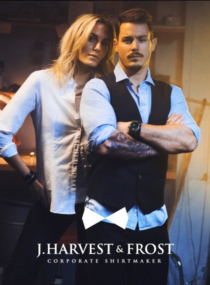 J. Harvest & Frost Corporate Shirt Maker 2019